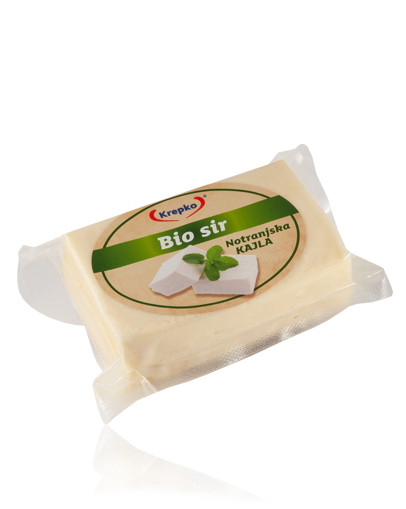 "Bio cheese in brine ""Notranjska kajla"" 250g"