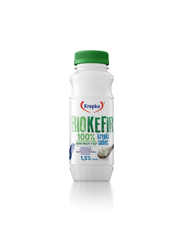 Bio kefir Krepki suhec 1,5% 250g