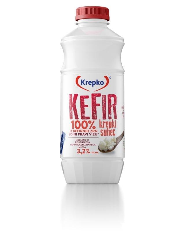 Kefir Krepki suhec 3,2% 750g