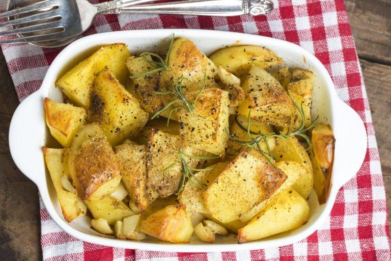 Krompir iz žerjavice malo drugače