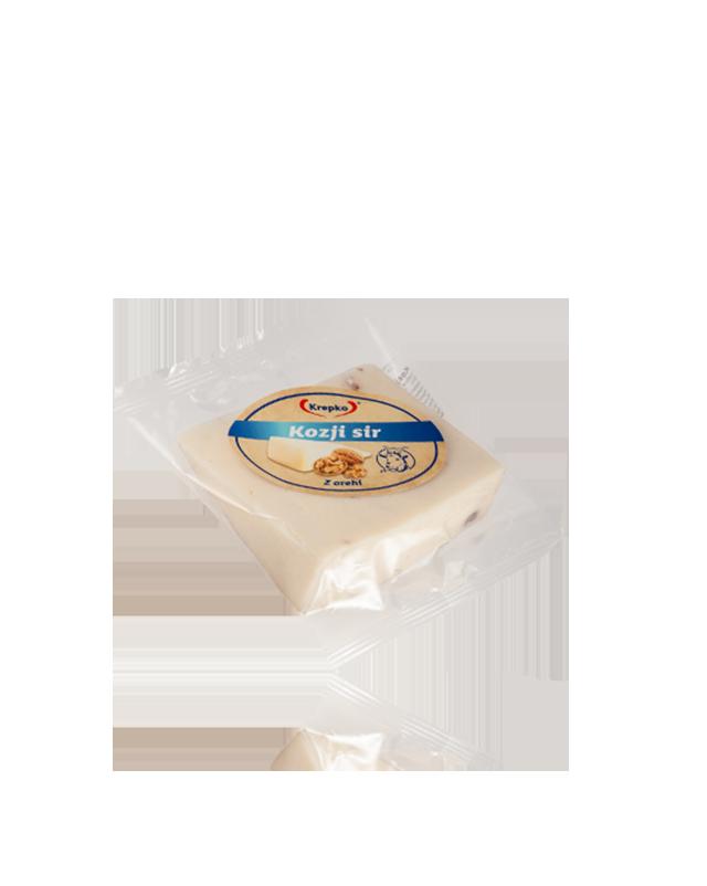 Kozji sir z orehi Krepko 200g