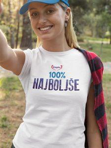 majica 100% krepko