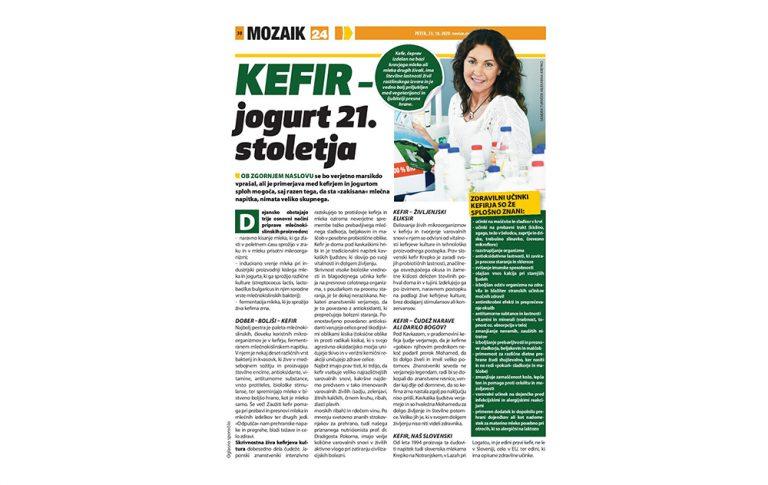 Kefir - jogurt 21. stoletja - revija Svet 24
