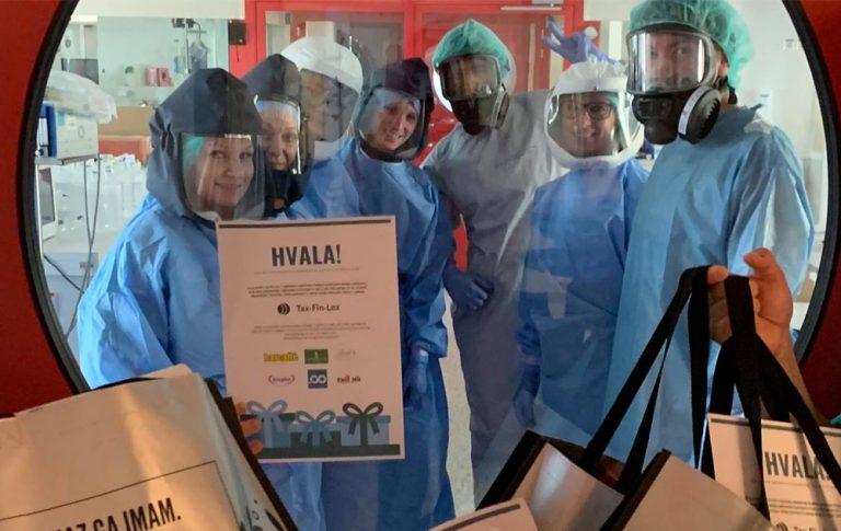 Globok poklon osebju Infekcijske klinike v Ljubljani - v času epidemije covid-19