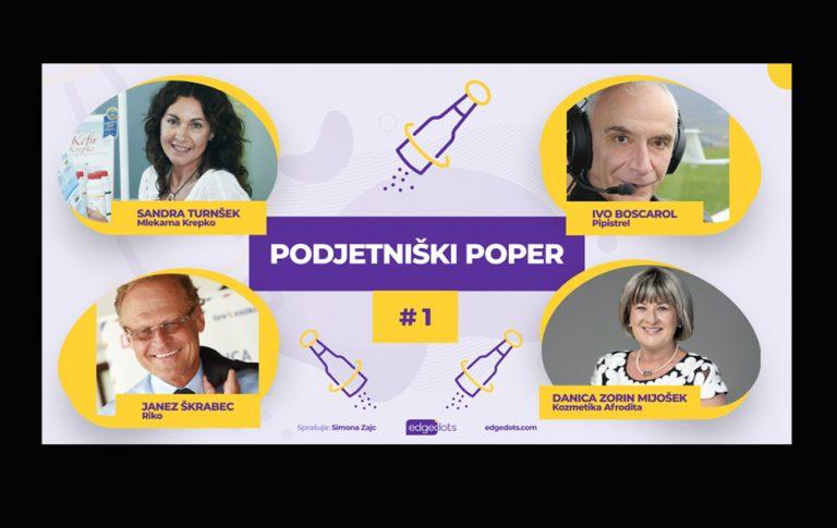 PODJETNIŠKI POPER #1 gost: Sandra Turnšek