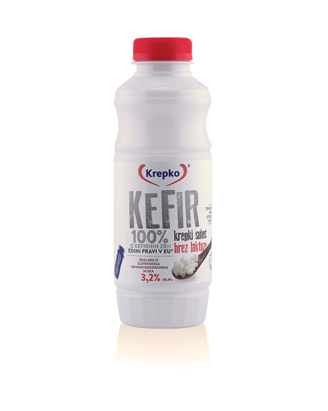 Kefir Krepki suhec 3,2% mm brez laktoze 500g