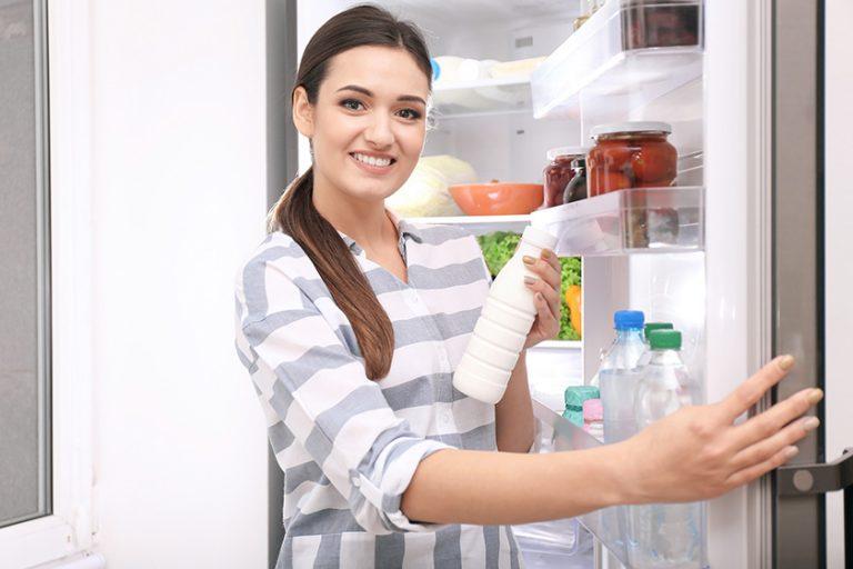 Hladilnik – kakšna naj bo temperatura in kako ga čistiti?